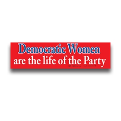 Democratic Women are the Life of the Party