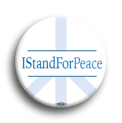 I Stand For Peace 1.75""