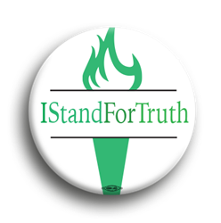 I Stand For Truth 1.75""