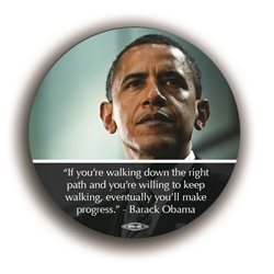 "Obama Quote 3"" Button"