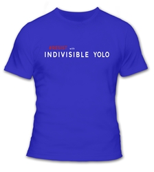 Resist with Indivisible Yolo Mens T Shirt