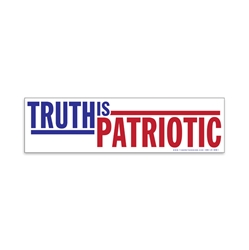 Truth Is Patriotic Bumper Sticker