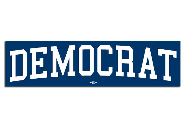 Democrat Bumper Sticker Bs53065 Democraticstuff Com