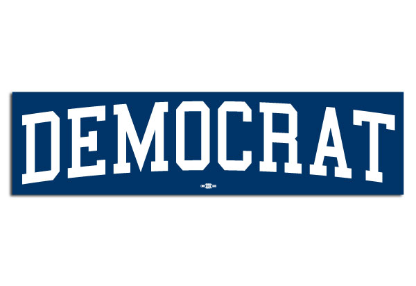 Democrat Bumper Sticker