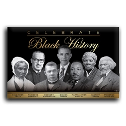 Celebrate Black History Button