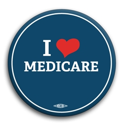 I Heart Medicare Button