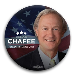 Lincoln Chaffee for President Button
