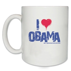 I Heart Obama Coffee Mug