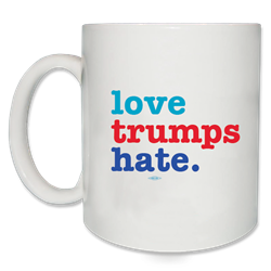 Love Trumps Hate Anti-Trump Mug