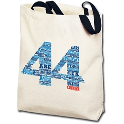 All 44 Presidents List Totebag