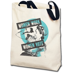 Women Work Women Vote Totebag