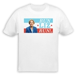 Run Liz Run Elizabeth Warren T-Shirt