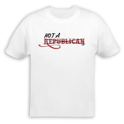 Not a Republican T-Shirt