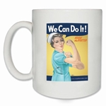 We Can Do It! Nurse Rosie the Riveter Coffee Mug