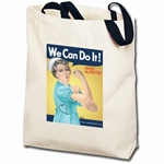 We Can Do It! Nurse Rosie the Riveter Totebag