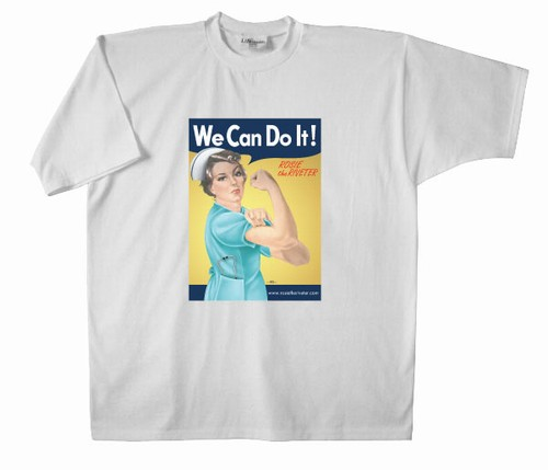 We Can Do It! Nurse Rosie the Riveter T-Shirt
