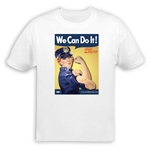 We Can Do It! Police Officer Rosie the Riveter T-Shirt