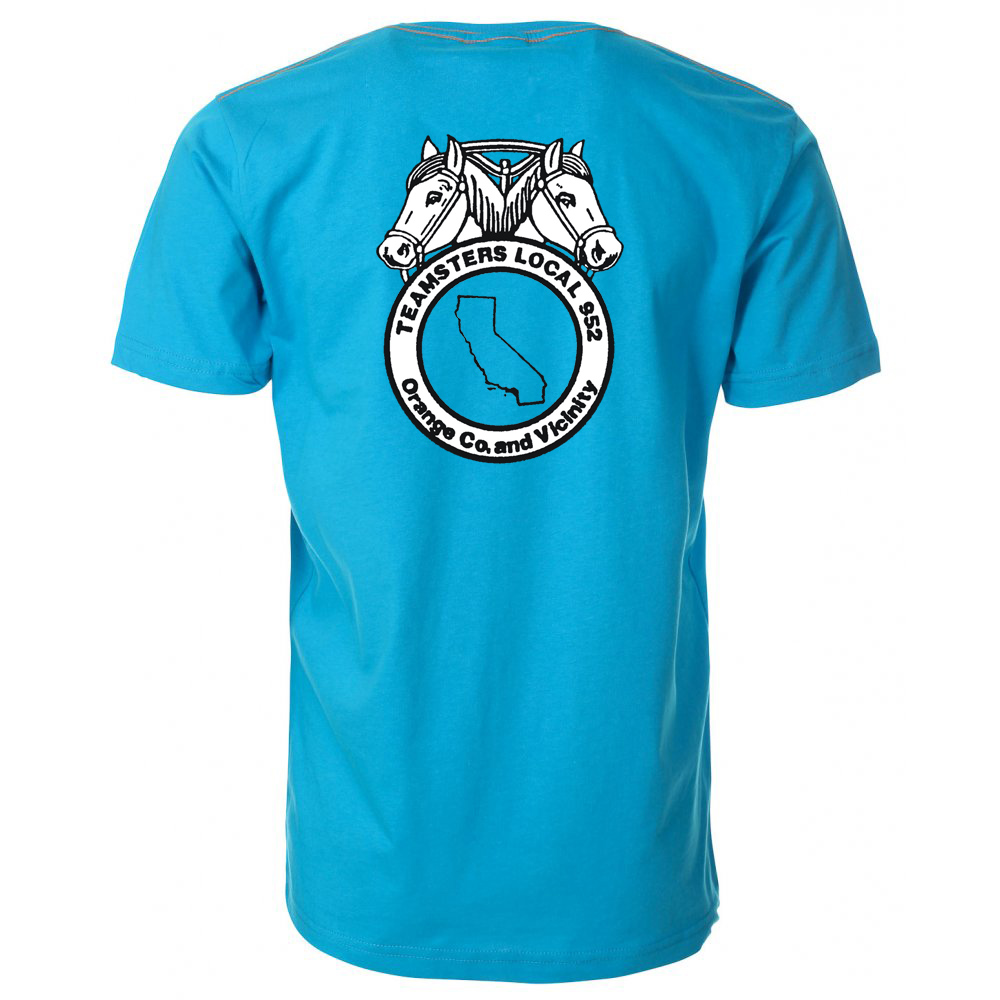Light Blue T-Shirt - #light blue tshirt - DemocraticStuff.com