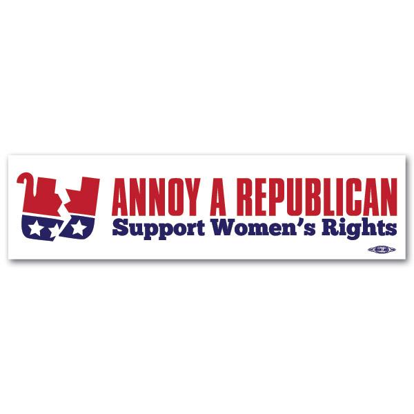 Republican Bumper Stickers Annoy A Republican Sup...