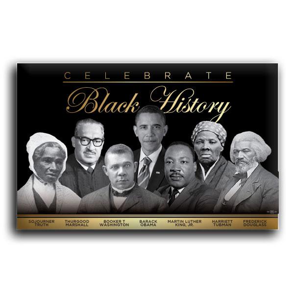 "Celebrate Black History 2"" X 3"" Button"
