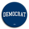 Democratic and Liberal Buttons