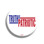 "2.25"" Truth is Patriotic Button"