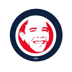 "Barack  Smiling 2.25"" Button"