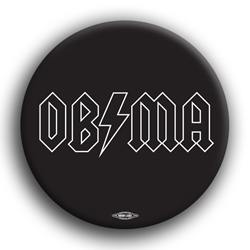 "Barack in Black 3"" Button"