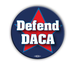 "Defend DACA 3"" Button"