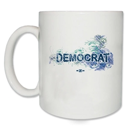 Democrat Fancy Design Coffee Mug
