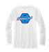Democrat Long Sleeve T-Shirt - LS62456-WHITE-SM