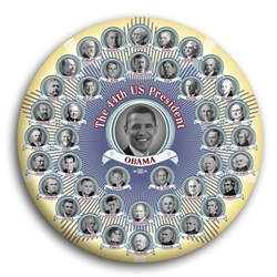 44 Presidents Button