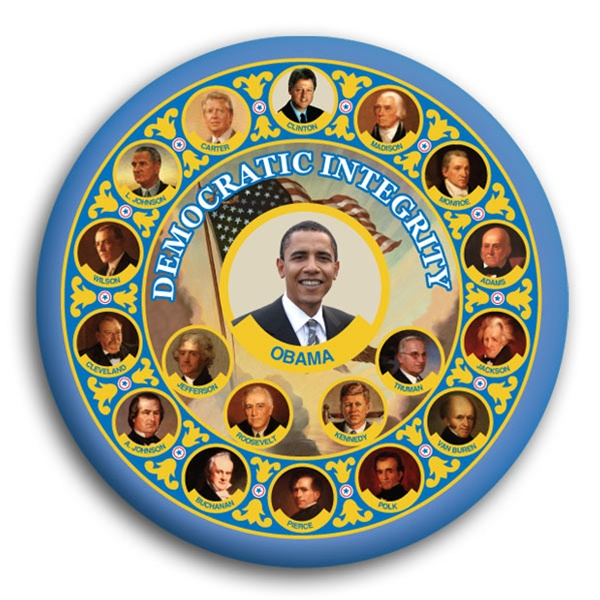 Democratic Integrity Button