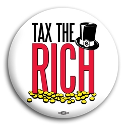 Tax The Rich Button