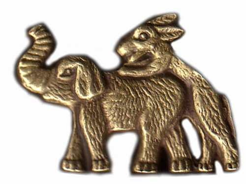 Disrespectful Democratic Donkey Lapel Pin