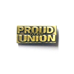 Proud to be Union Lapel Pin