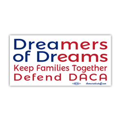 Dreamers of Dreams Bumper Sticker