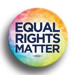 "Equal Rights Matter 2.25"" Button"