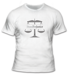 I Stand For Justice T-Shirt
