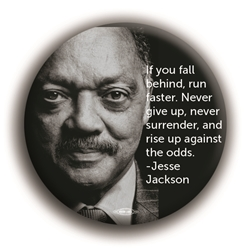 "Jesse Jackson Quote 3"" Button"