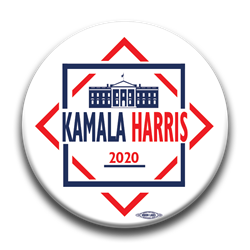 "Kamala Harris 2020 3"" Button"