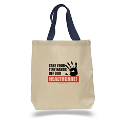 Keep Your Tiny Hands Off Our Healthcare Tote Bag