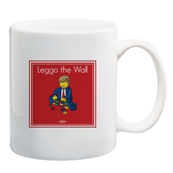 Leggo the wall Coffee Mug