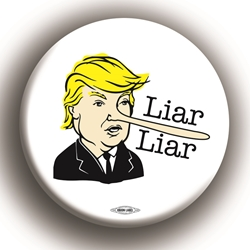 "Liar Liar 2.25"" Button"