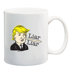 Liar Liar Coffee Mug
