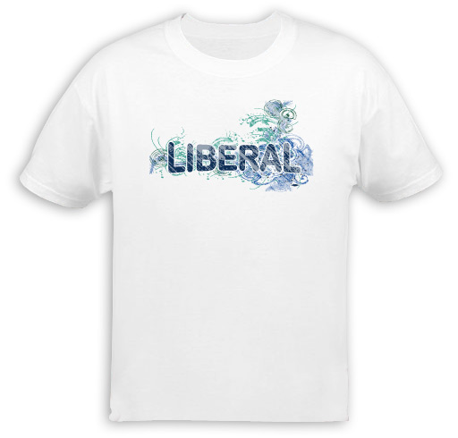 Liberal Fancy Design T-Shirt
