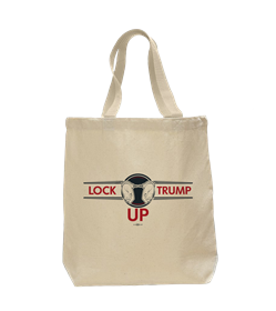 Lock Trump Up Tote Bag