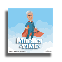 Mueller Time Bumper Sticker