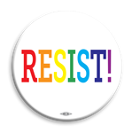 "Pride Resist! 2.25"" Button"