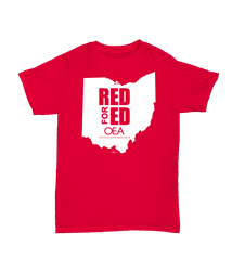 Red for ED Red T-Shirt